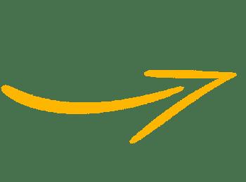 Icono flecha naranja